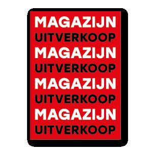 Magazijn Uitverkoop poster