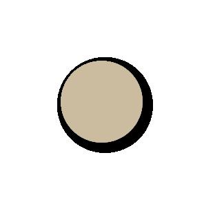 Blanco stickers lichtbruin rond 15mm