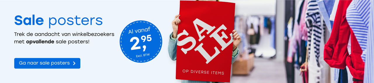 Sale posters header home